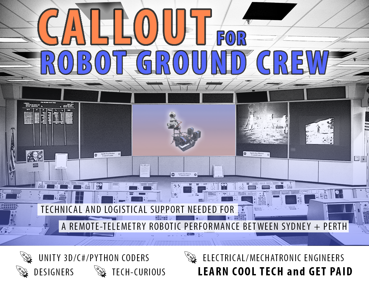 Callout for project Ground Crew