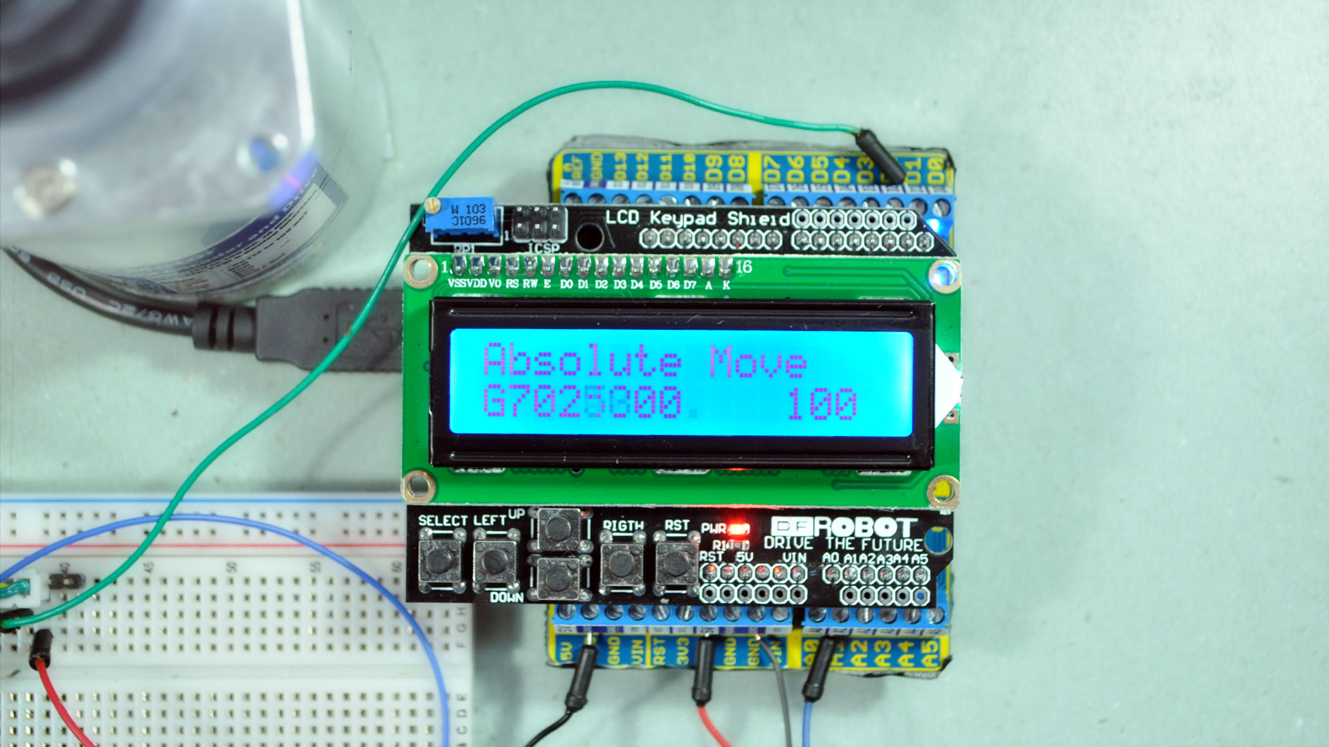DC Servo Motor controller
