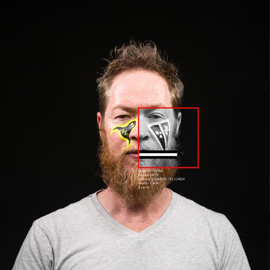 Facial Recognition Visualisation: Jason Wing